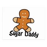 Sugar Daddy Gingerbread Man Post Cards