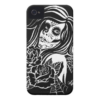 Sugar - Day of the Dead Girl iPhone 4 Case