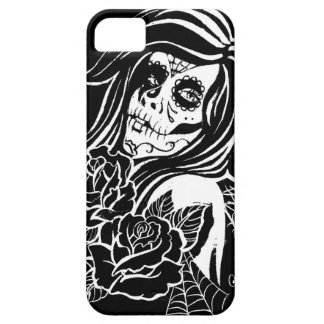 Sugar - Day of the Dead Girl iPhone SE/5/5s Case