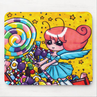Sugar fairy mouse pad