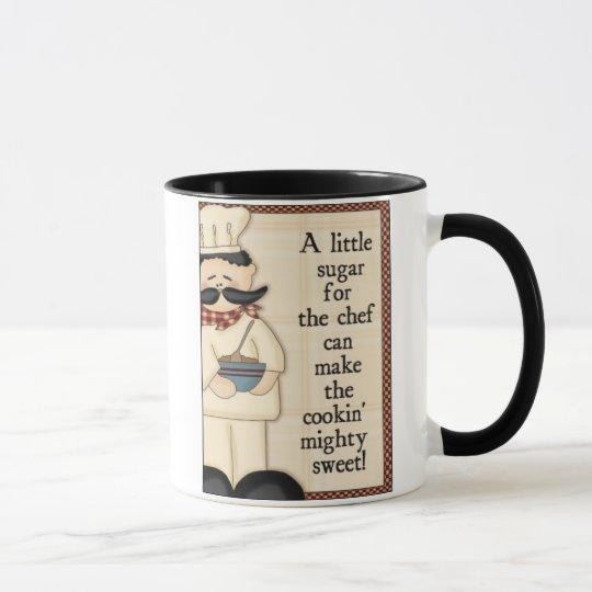 Sugar for the chef mug