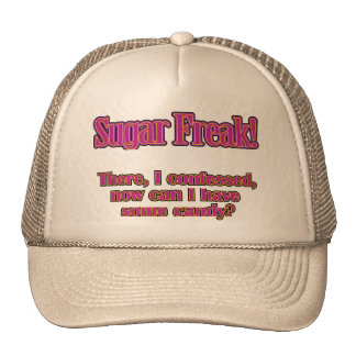 Sugar Freak – There, I confessed Mesh Hat