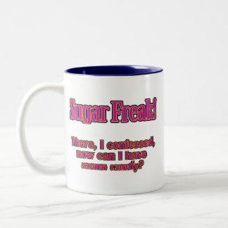 Sugar Freak – There, I confessed Two-Tone Coffee Mug