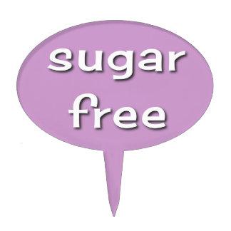 Sugar Free Cake Pick