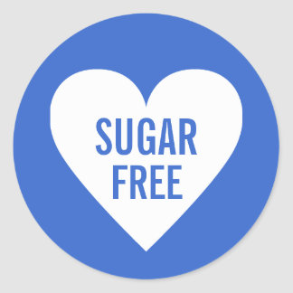 Sugar Free Dietary Restrictions Culinary Label