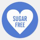 Sugar Free Dietary Restrictions Culinary Label Sticker
