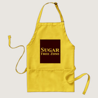 Sugar Free Zone Gifts Adult Apron