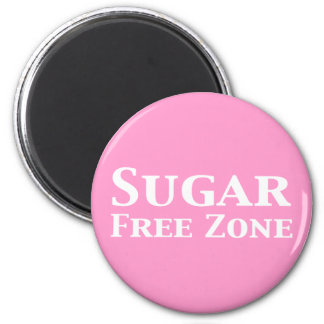 Sugar Free Zone Gifts Magnet