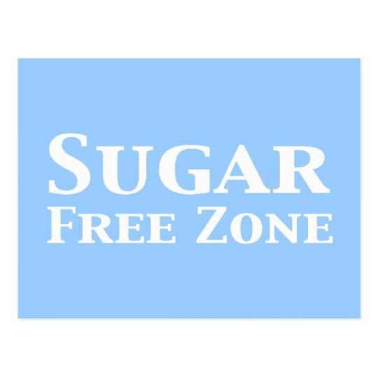 Sugar Free Zone Gifts Postcard
