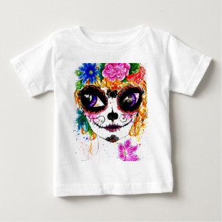 Sugar Girl in Flower Crown 4 Baby T-Shirt