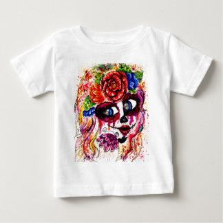 Sugar Girl in Flower Crown Baby T-Shirt