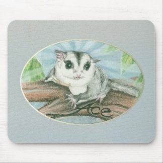 sugar glider Ace mouse pad