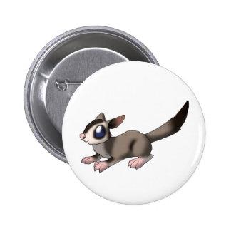 Sugar Glider Pinback Button