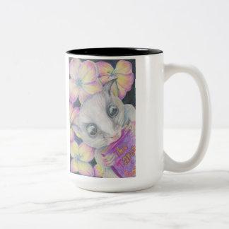Sugar Glider Coffee Mug Full of Squee Cuteness!