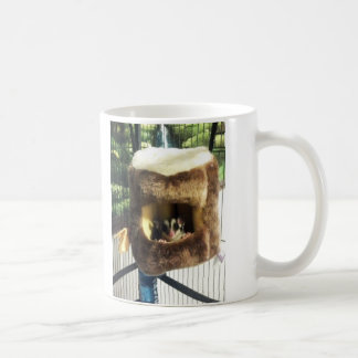 Sugar Glider in Furry Tree Truck Hanging Bed Coffee Mug