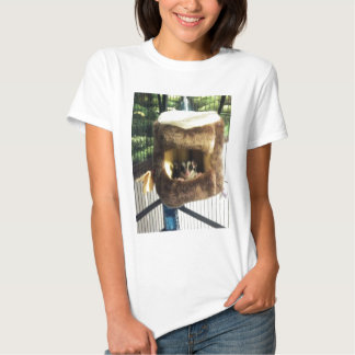Sugar Glider in Furry Tree Truck Hanging Bed T Shirt