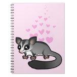 Sugar Glider Love Notebook