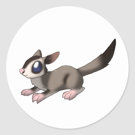 Sugar Glider Sticker