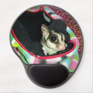 Sugar Glider Wearing a Hat Gel Mousepads