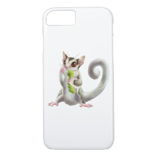 sugar glider with horn worm iPhone 8/7 case