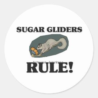 SUGAR GLIDERS Rule! Classic Round Sticker