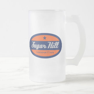 Sugar Hill Frosted Glass Beer Mug