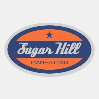 Sugar Hill Oval Sticker