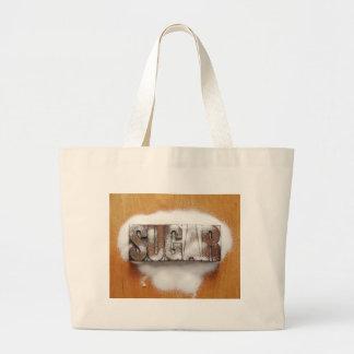 sugar jumbo tote bag