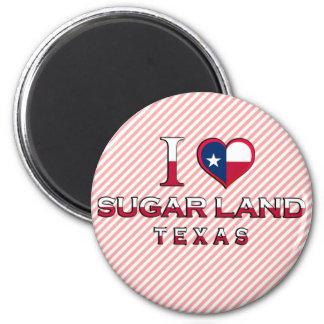 Sugar Land, Texas 2 Inch Round Magnet
