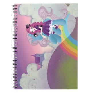 Sugar little pony notebook