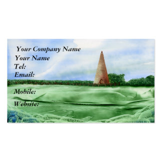 Sugar Loaf Double-Sided Standard Business Cards (Pack Of 100)