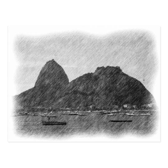 Sugar Loaf by Pencil Postcard