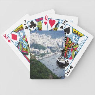 Sugar Loaf gondola Bicycle Playing Cards