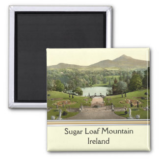 Sugar Loaf Mountain, County Wicklow, Ireland 2 Inch Square Magnet