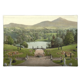 Sugar Loaf Mountain, County Wicklow, Ireland Cloth Placemat