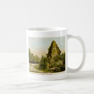 Sugar Loaf Rock  Mackinac Island Michigan Coffee Mug
