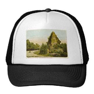 Sugar Loaf Rock  Mackinac Island Michigan Trucker Hat