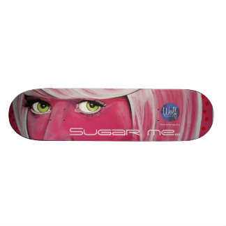 Sugar me….- Dare to be Square Skateboard Deck