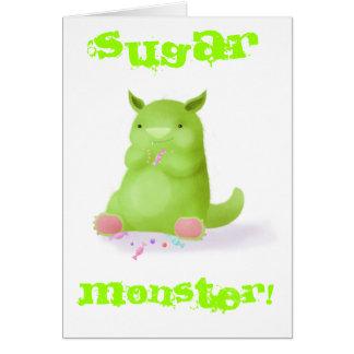 Sugar Monster Card
