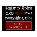 Sugar n' Spice Postcards
