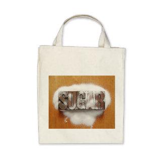 sugar organic tote bag