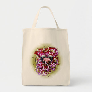 sugar overload canvas bag