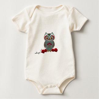 Sugar Owl Baby Bodysuit
