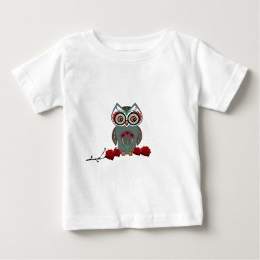 Halloween Themed Sugar Owl Baby T-Shirt