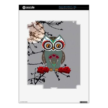 Halloween Themed Sugar Owl iPad 2 Decals