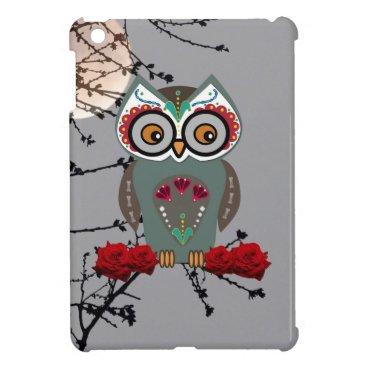 Halloween Themed Sugar Owl iPad Mini Covers