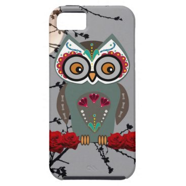 Halloween Themed Sugar Owl iPhone SE/5/5s Case