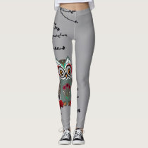 Sugar Owl Leggings