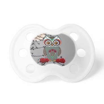 Halloween Themed Sugar Owl Pacifier