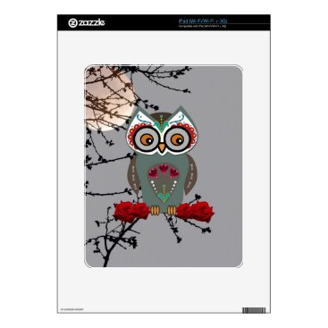 Halloween Themed Sugar Owl Skin For iPad